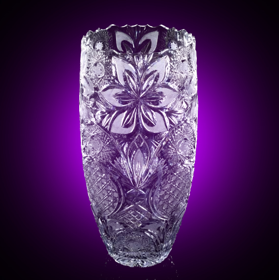 Купить хрустальные вазы: широкий ассортимент в интернет магазине Hrustal-mag.ru.