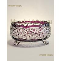 Хрустальная ваза для фруктов арт. ф7184/28, фото 1