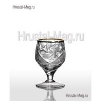 Хрустальные рюмки (15 мл) арт. 5290/15 1000/1 зол, фото 1