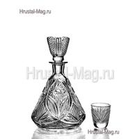 """Сервиз для вина """"Барыня"""" (1+6) (400 мл), фото 1"""
