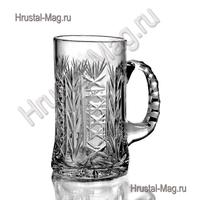 Хрустальная кружка для пива (600 мл) арт. с4693/1, фото 1
