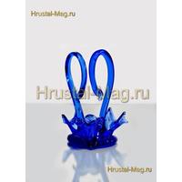 Сувенир Лебеди синие, фото 1