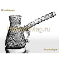 Хрустальная турка для кофе, фото 1