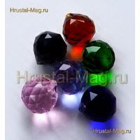 Подвеска цветная шар 30 мм., фото 1