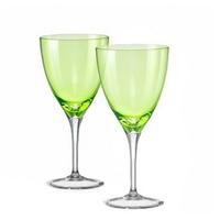"Бокалы для вина ""Кейт"" зеленый, 250 мл, 2 шт, арт. 40796/D4353/250-2, фото 1"