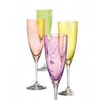 "Бокалы для шампанского ""Кейт"" FANTASY, 220 мл, 4 шт, арт. 40796/Q8794/220-ass, фото 1"