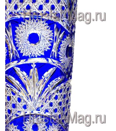 """Ваза для цветов (470 мл) """"Бабье лето"""" синий, фото 3"""
