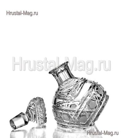 """Хрустальный набор для водки """"Приятель"""", (1+6) арт. 211/1,2, фото 2"""