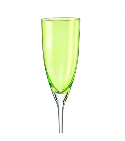 "Бокалы для шампанского ""Кейт"" зеленый, 220 мл, 2 шт, арт. 40796/D4353/220-2, фото 1"