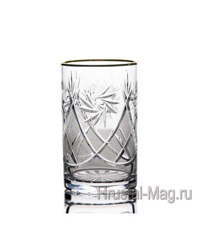 Набор стаканов арт. з5107 1000/1 (отводка золотом), фото 1