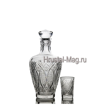 """Хрустальный сервиз """"Шехерезада"""", 6+1, арт. 332/1,2, фото 1"""