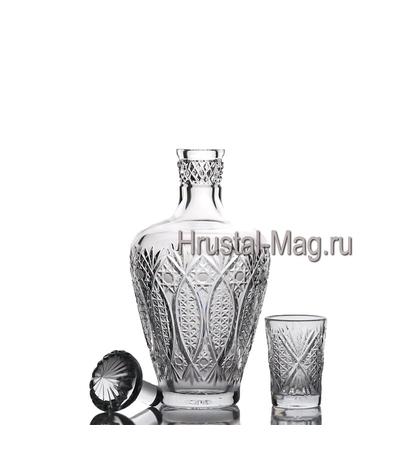 """Хрустальный сервиз """"Шехерезада"""", 6+1, арт. 332/1,2, фото 2"""